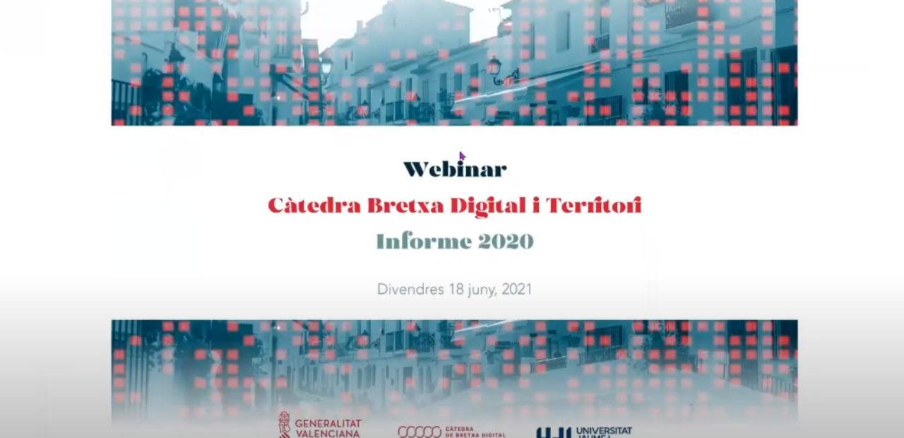 Informe 2020 Càtedra Bretxa Digital i Territori